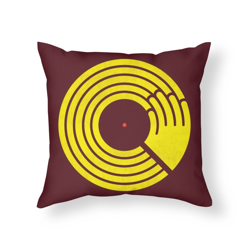 Bring the Noise Home Throw Pillow by Opippi