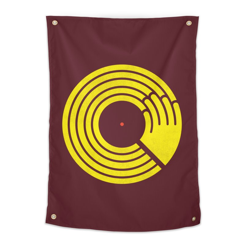 Bring the Noise Home Tapestry by Opippi