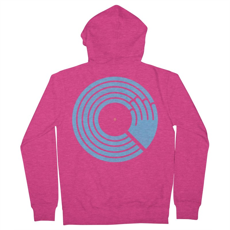 Bring the Noise_white background Women's Zip-Up Hoody by Opippi