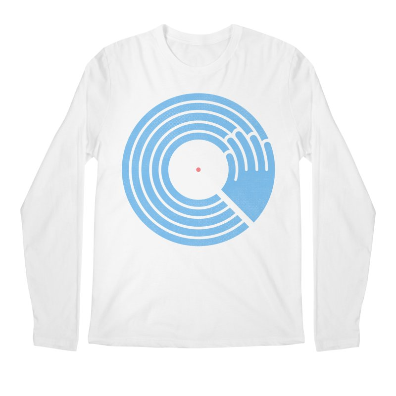 Bring the Noise_white background Men's Longsleeve T-Shirt by Opippi