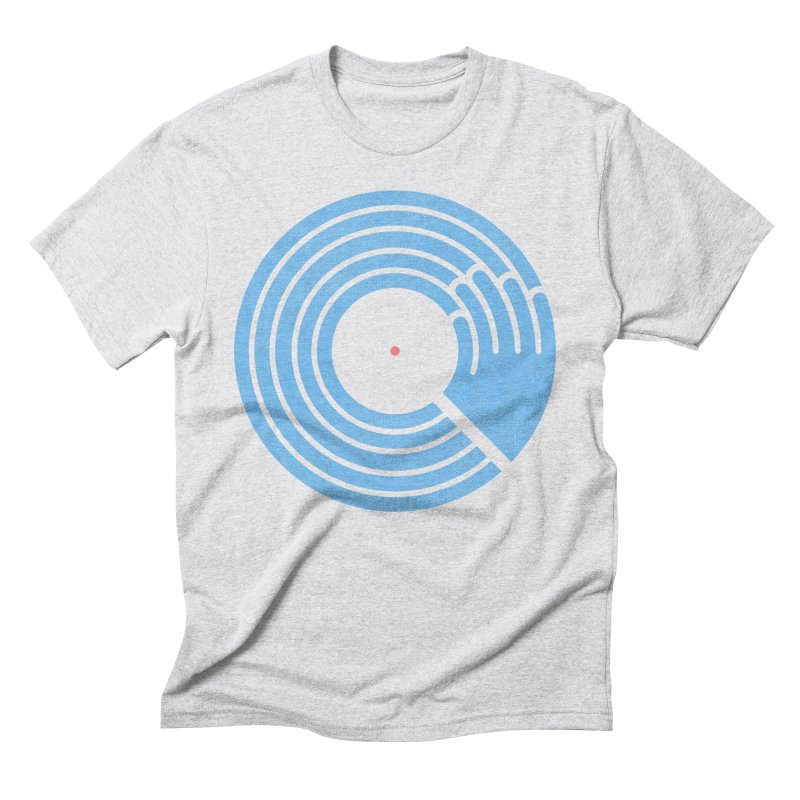 Bring the Noise_white background Men's Triblend T-Shirt by Opippi