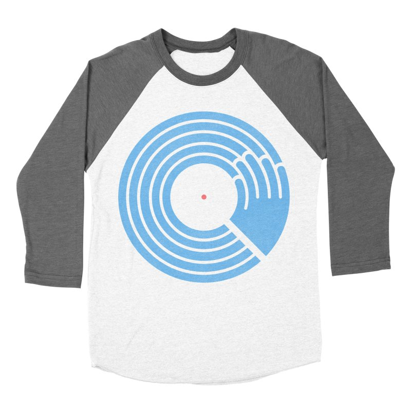 Bring the Noise_white background Men's Baseball Triblend Longsleeve T-Shirt by Opippi