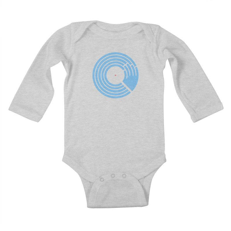 Bring the Noise_white background Kids Baby Longsleeve Bodysuit by Opippi