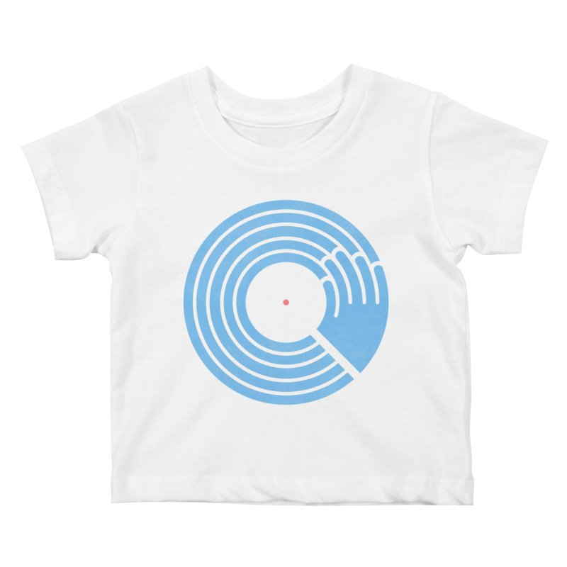 Bring the Noise_white background Kids Baby T-Shirt by Opippi