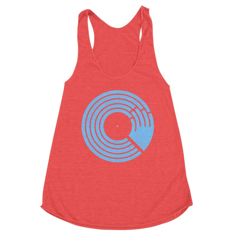 Bring the Noise_white background Women's Tank by Opippi