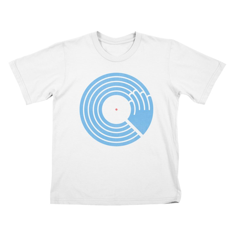 Bring the Noise_white background Kids T-Shirt by Opippi