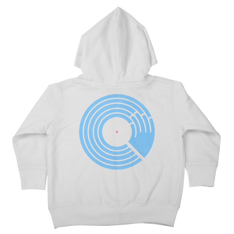 Bring the Noise_white background Kids Toddler Zip-Up Hoody by Opippi