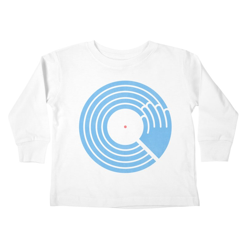 Bring the Noise_white background Kids Toddler Longsleeve T-Shirt by Opippi