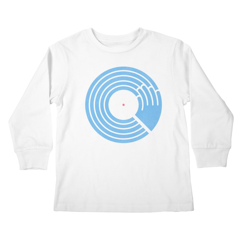 Bring the Noise_white background Kids Longsleeve T-Shirt by Opippi