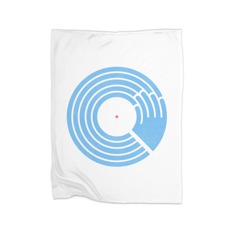 Bring the Noise_white background Home Blanket by Opippi