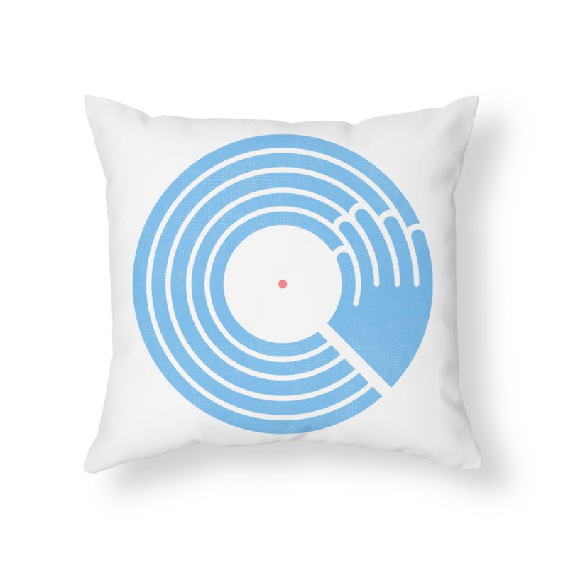 Bring the Noise_white background Home Throw Pillow by Opippi