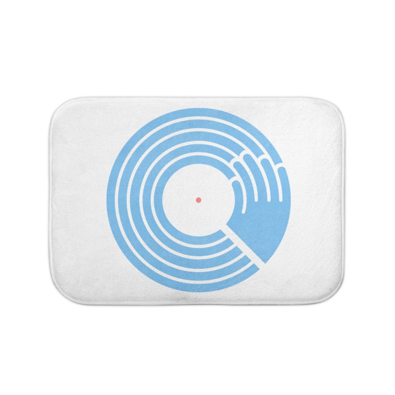 Bring the Noise_white background Home Bath Mat by Opippi