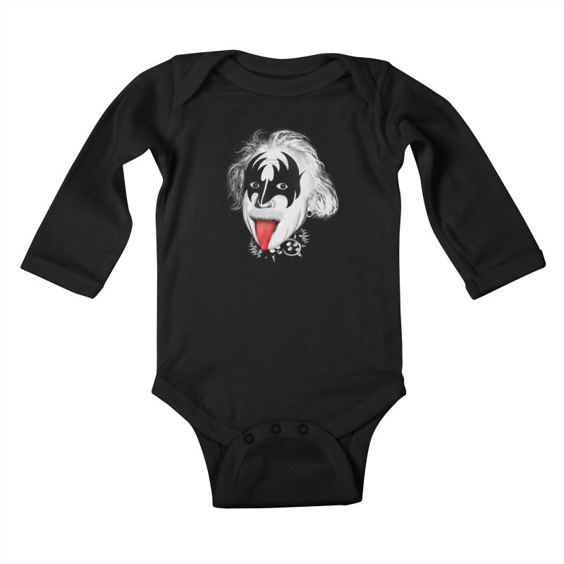 E = Rock & Roll2 Kids Baby Longsleeve Bodysuit by Opippi