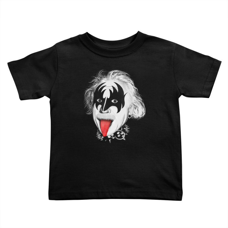E = Rock & Roll2 Kids Toddler T-Shirt by Opippi