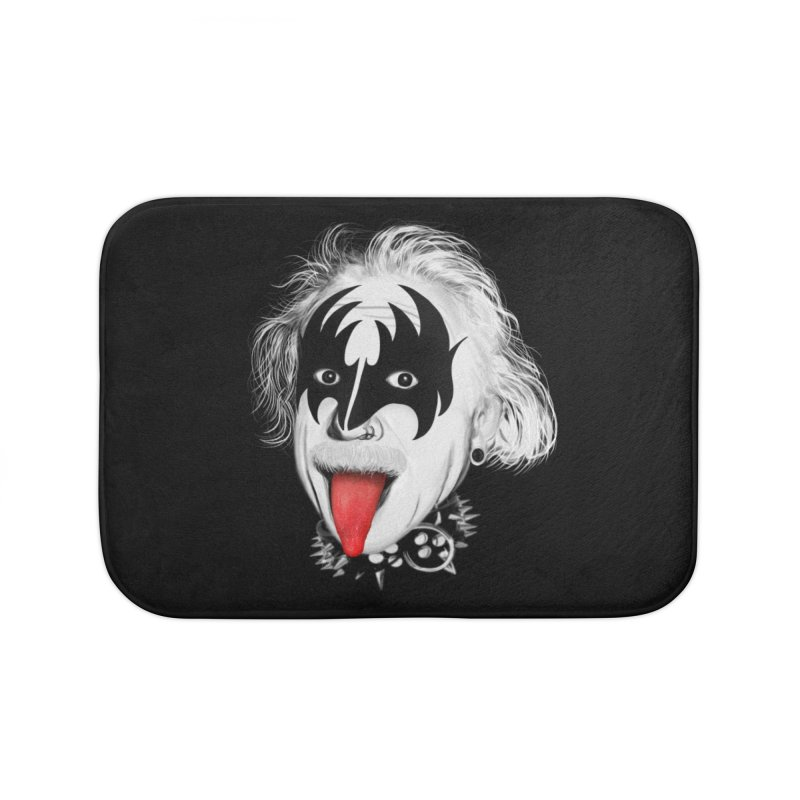 E = Rock & Roll2 Home Bath Mat by Opippi