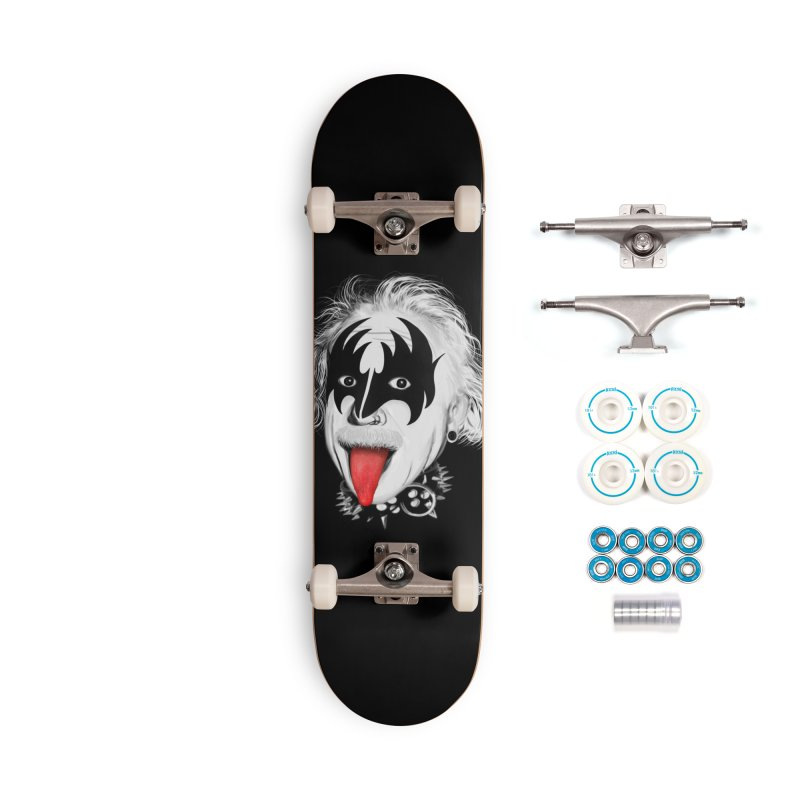 E = Rock & Roll2 Accessories Skateboard by Opippi