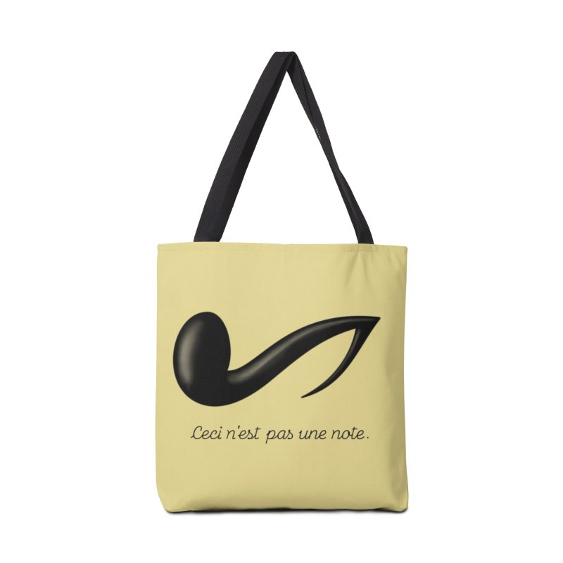 Ceci n'est pas une note Accessories Bag by Opippi
