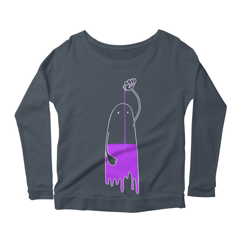 Friday night...CHEERS!!! Women's Longsleeve Scoopneck  by Opippi