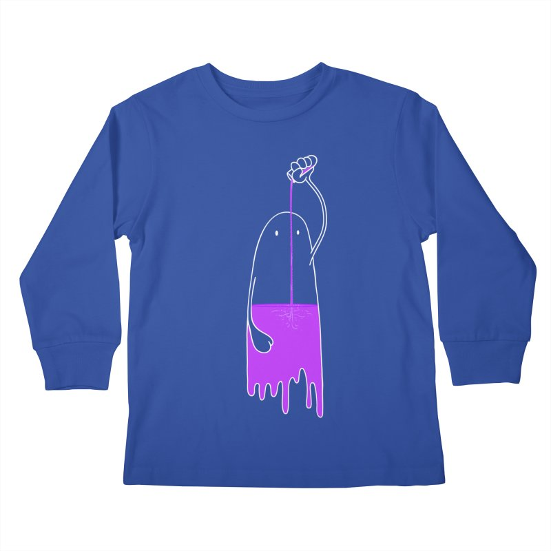 Friday night...CHEERS!!! Kids Longsleeve T-Shirt by Opippi