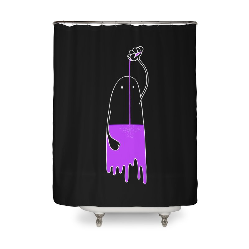 Friday night...CHEERS!!! Home Shower Curtain by Opippi