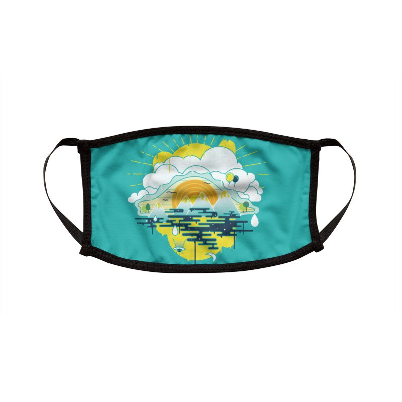 Mother nature is watching you Accessories Face Mask by Opippi