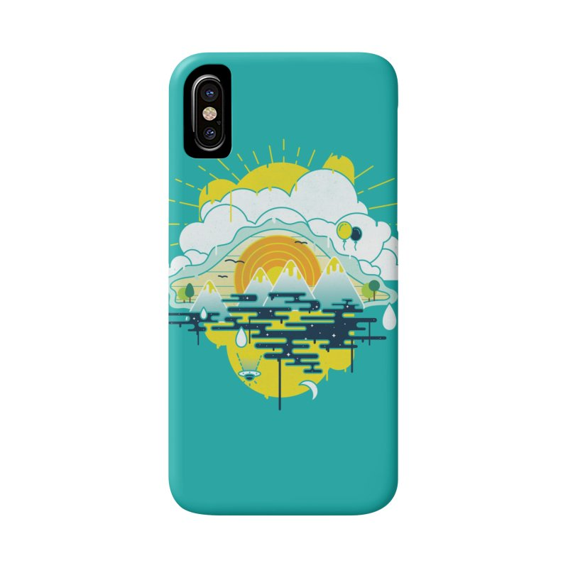 Mother nature is watching you Accessories Phone Case by Opippi