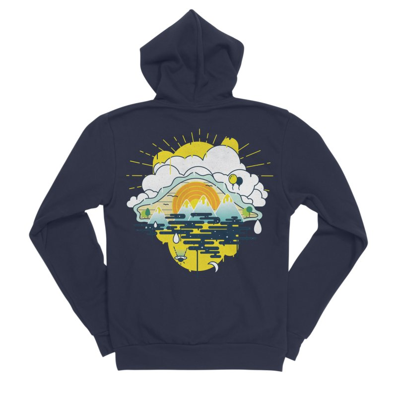 Mother nature is watching you Women's Zip-Up Hoody by Opippi