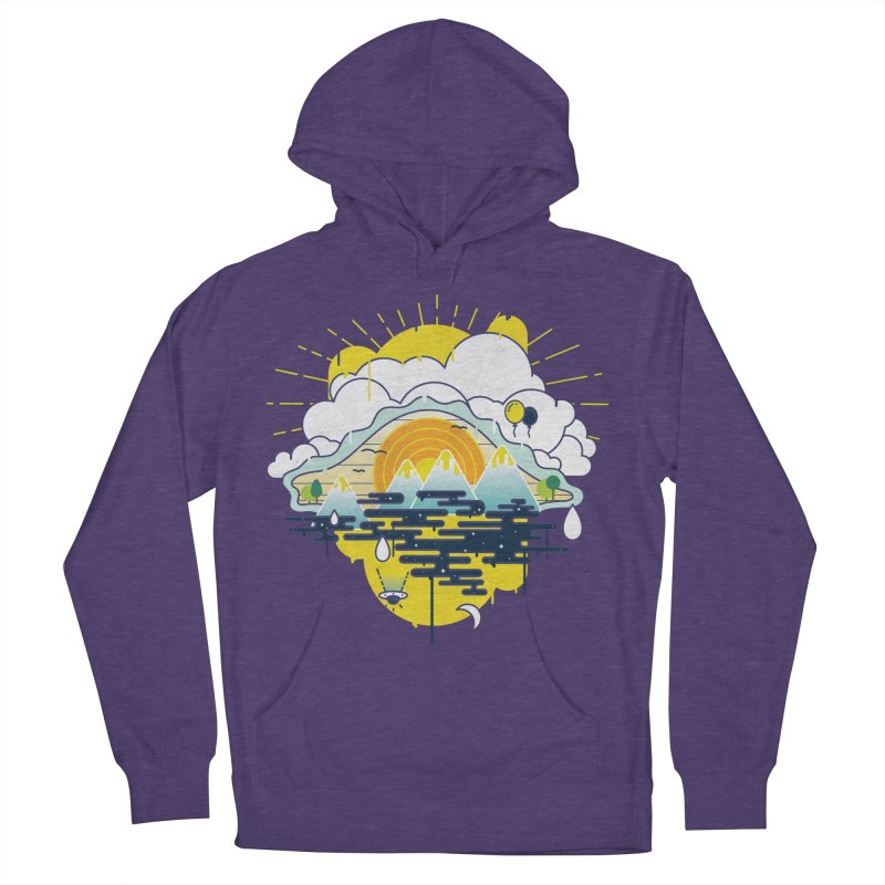 Mother nature is watching you Men's Pullover Hoody by Opippi