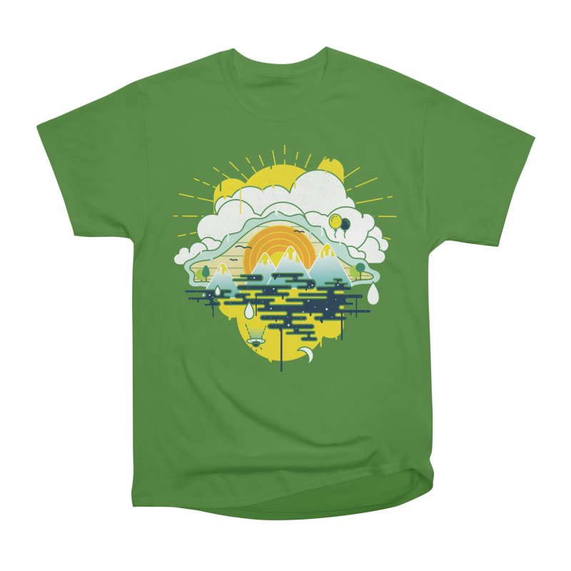 Mother nature is watching you Men's Classic T-Shirt by Opippi