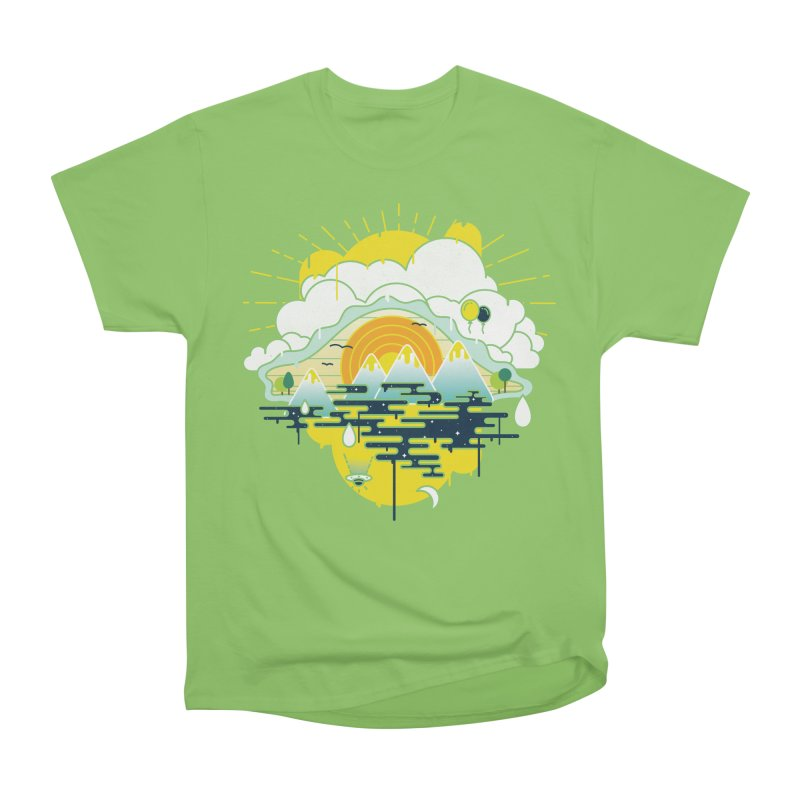 Mother nature is watching you Men's Heavyweight T-Shirt by Opippi