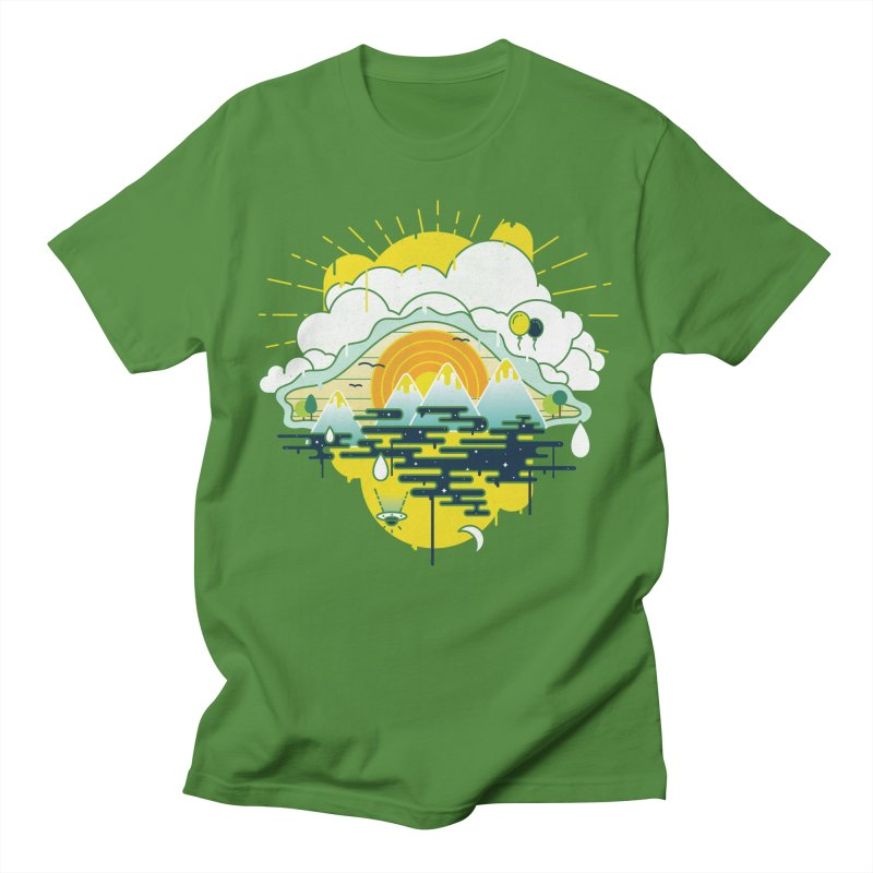 Mother nature is watching you Men's T-Shirt by Opippi