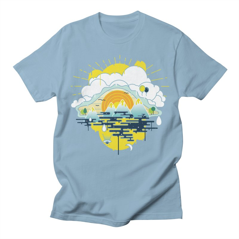 Mother nature is watching you Women's Unisex T-Shirt by Opippi