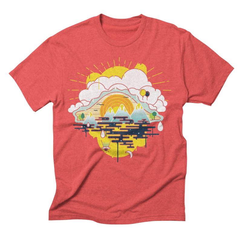 Mother nature is watching you Men's Triblend T-Shirt by Opippi