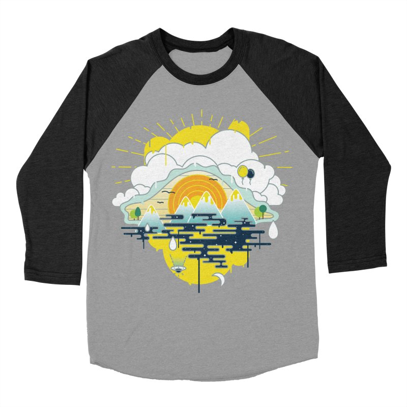 Mother nature is watching you Women's Baseball Triblend Longsleeve T-Shirt by Opippi