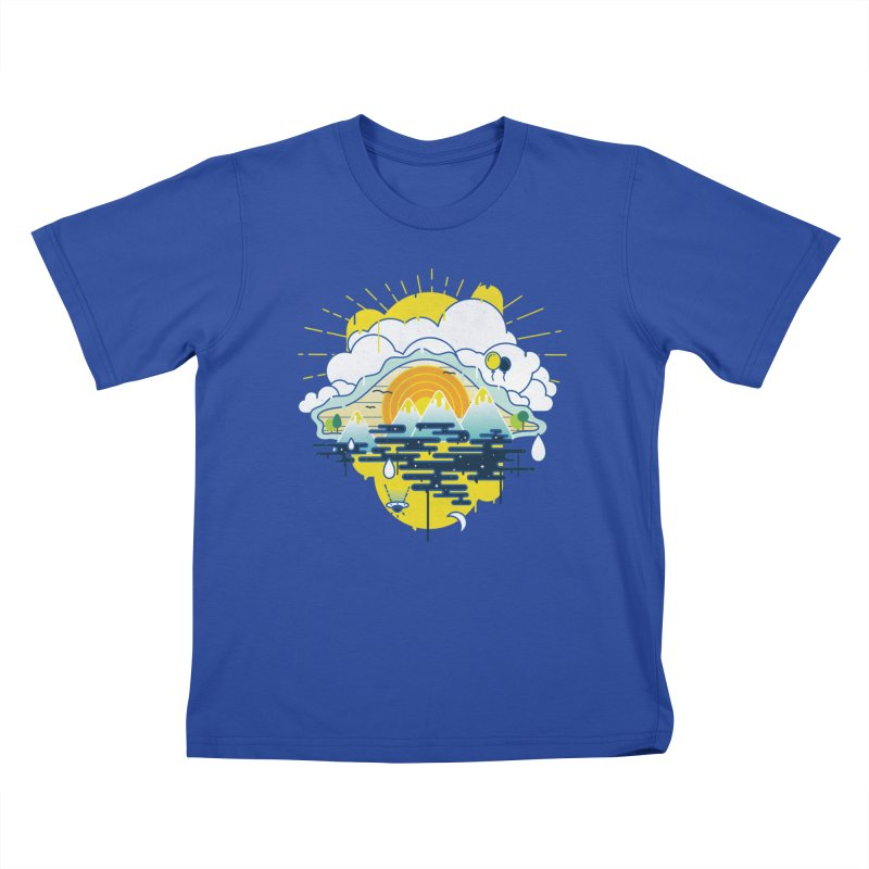 Mother nature is watching you Kids Toddler T-Shirt by Opippi