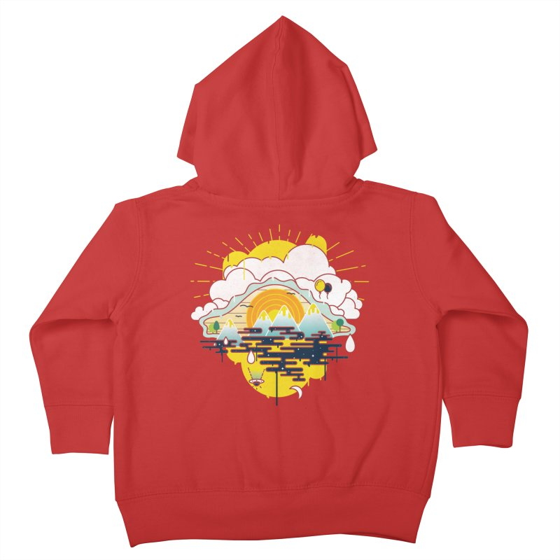 Mother nature is watching you Kids Toddler Zip-Up Hoody by Opippi
