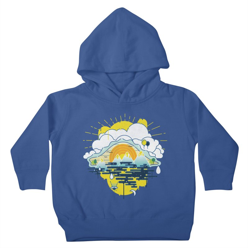 Mother nature is watching you Kids Toddler Pullover Hoody by Opippi