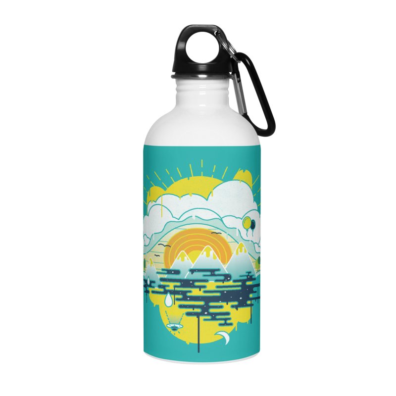 Mother nature is watching you Accessories Water Bottle by Opippi