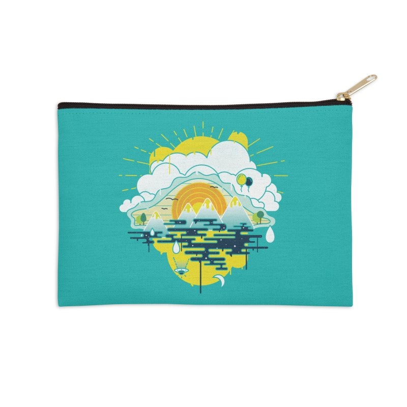 Mother nature is watching you Accessories Zip Pouch by Opippi