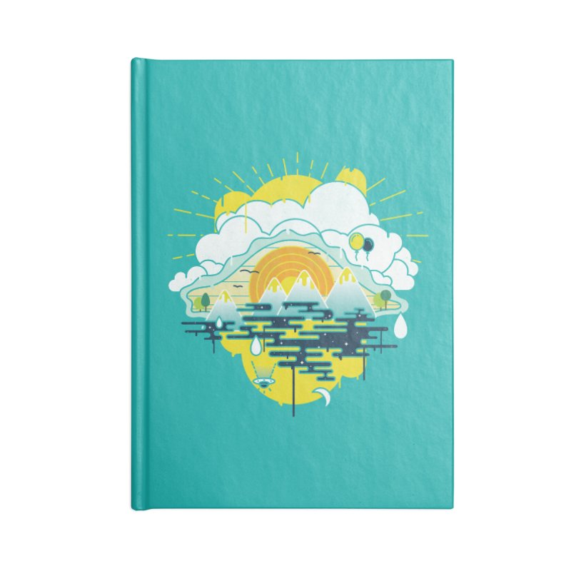 Mother nature is watching you Accessories Notebook by Opippi