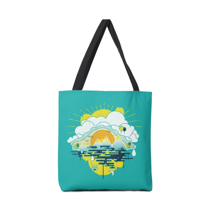 Mother nature is watching you Accessories Tote Bag Bag by Opippi