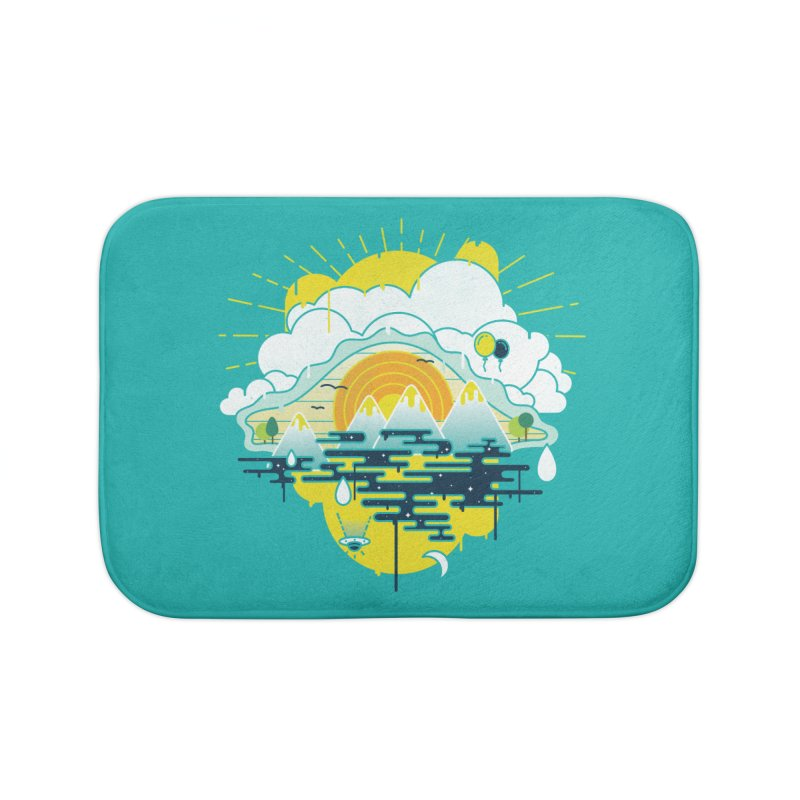 Mother nature is watching you Home Bath Mat by Opippi