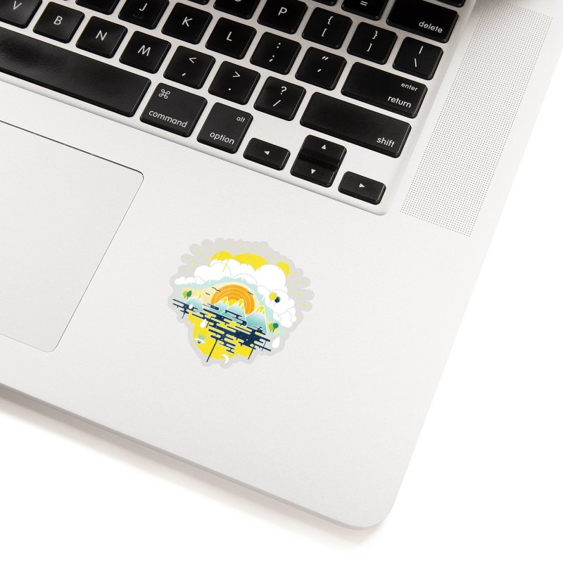 Mother nature is watching you Accessories Sticker by Opippi