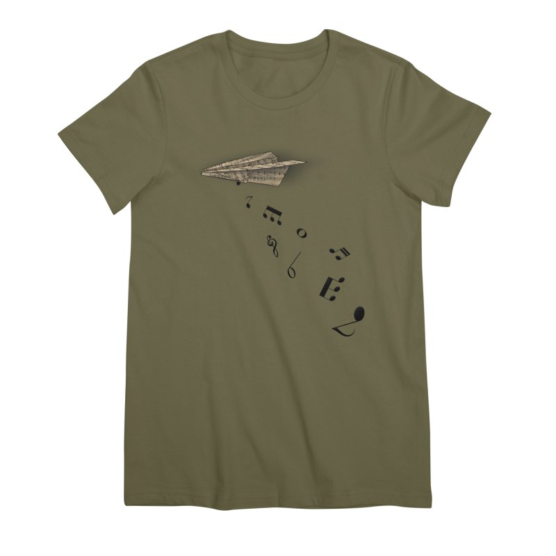 Musical Attack Women's T-Shirt by Opippi