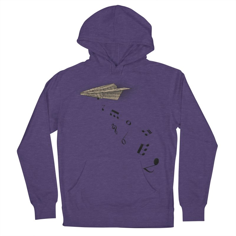 Musical Attack Men's French Terry Pullover Hoody by Opippi
