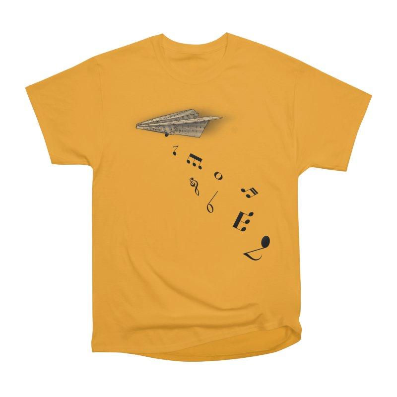 Musical Attack Women's Heavyweight Unisex T-Shirt by Opippi