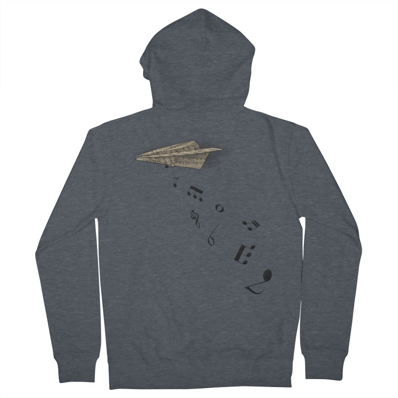 Musical Attack Women's Zip-Up Hoody by Opippi