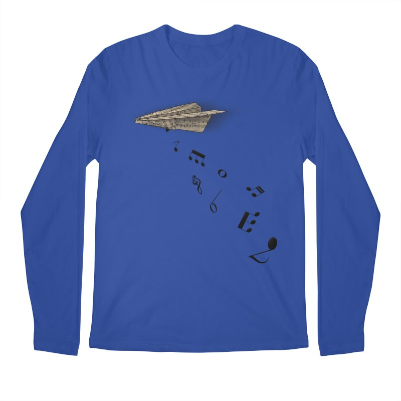 Musical Attack Men's Regular Longsleeve T-Shirt by Opippi