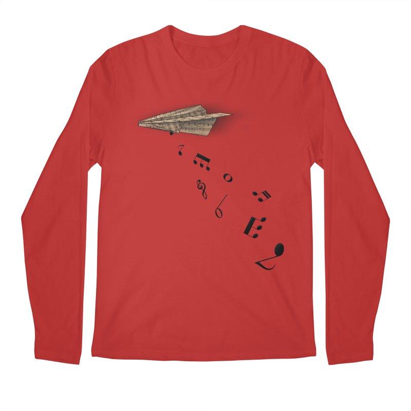 Musical Attack Men's Longsleeve T-Shirt by Opippi