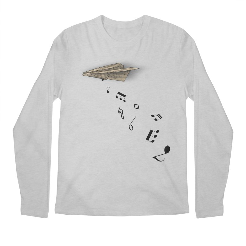 Musical Attack Men's Longsleeve T-Shirt by Opippi